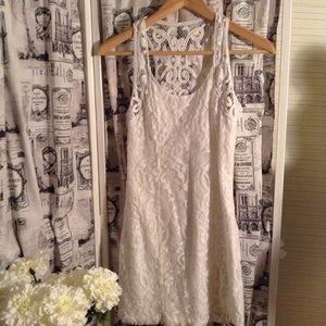 Abercrombie & Fitch Lace Mini Dress